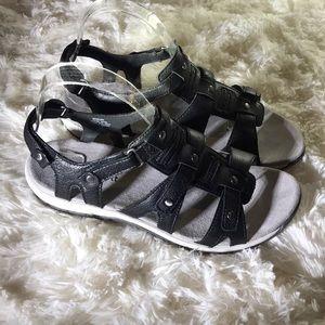 Easy Spirit sailor leather sandals NWOT